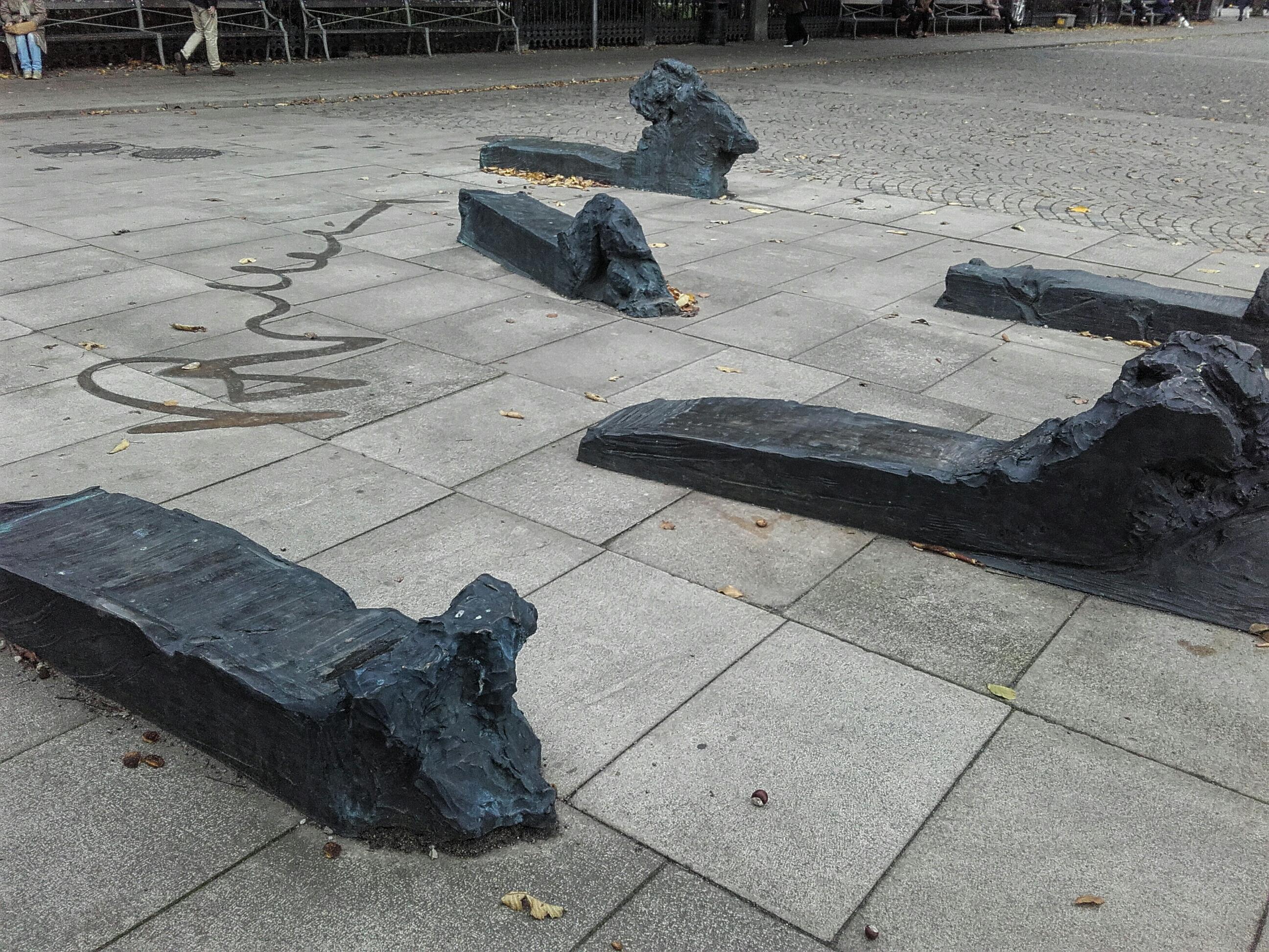 Kirsten Ortwed: Raoul Wallenberg-monumentet. Foto (c) Jon Brunberg, 2018
